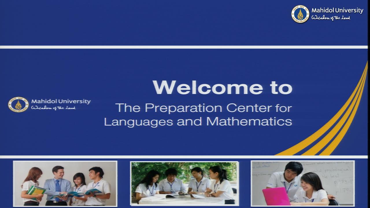 พิธีปฐมนิเทศนักเรียนใหม่ PC ภาคเรียนที่ 2/2562 @ วิทยาลัยนานาชาติ